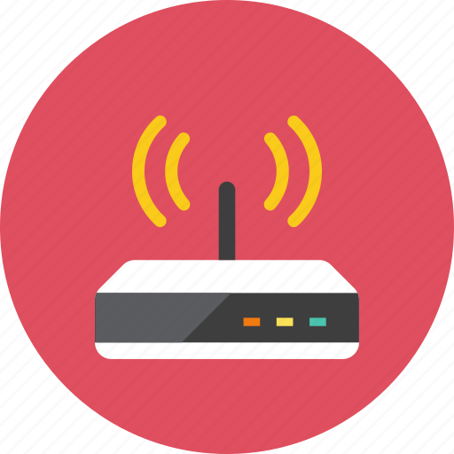 router, wifi icon