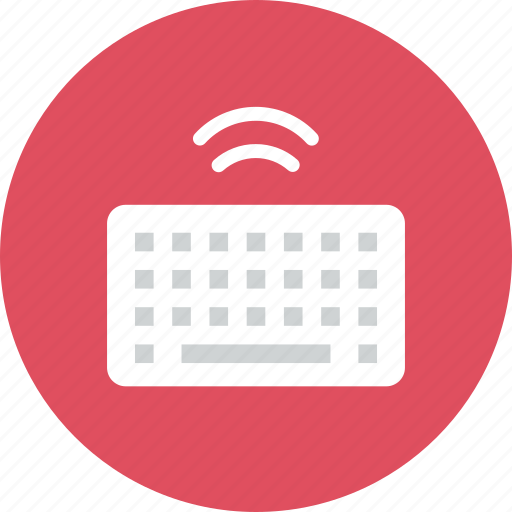 keyboard, wireless icon
