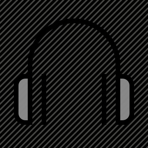 audio, device, headphones, media, music, sound icon