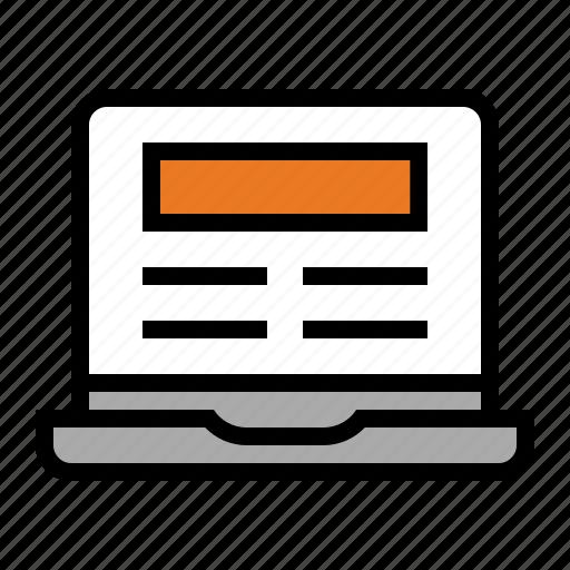 computer, device, laptop, macbook, media, powerbook icon