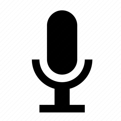 devices, input, media, microphone icon