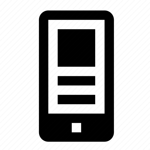 devices, media, mobile, phone icon