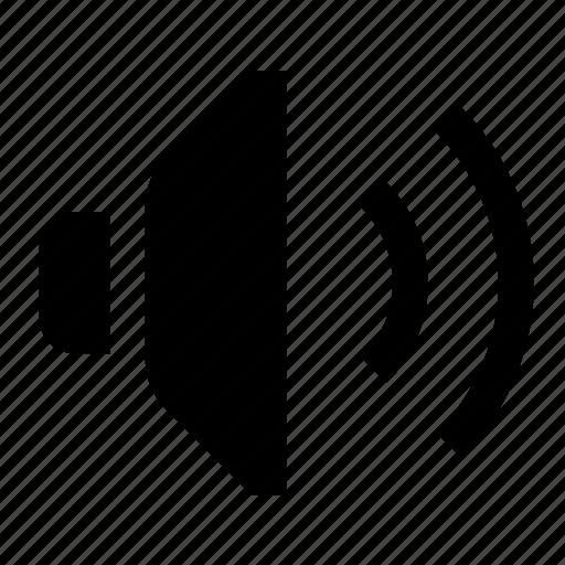audio, devices, media, speaker, volume icon