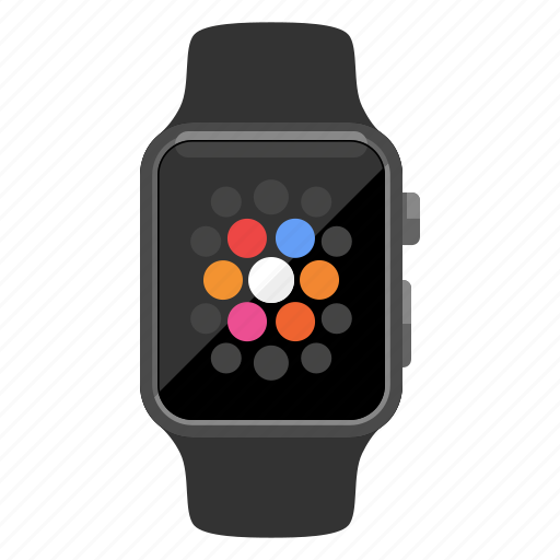 apple watch, device, iwatch, time, watch, wearable icon