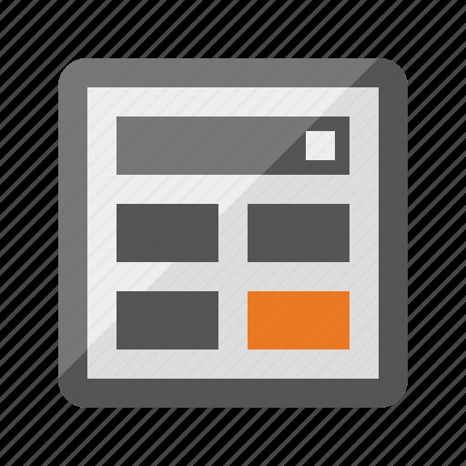 accounting, algebra, calculator, math, report, sales icon
