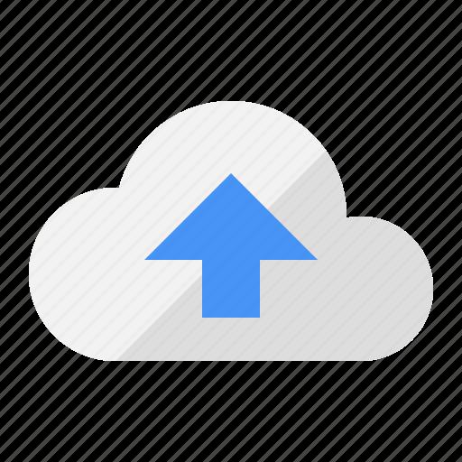cloud, internet, network, sharing, storage, upload, web icon