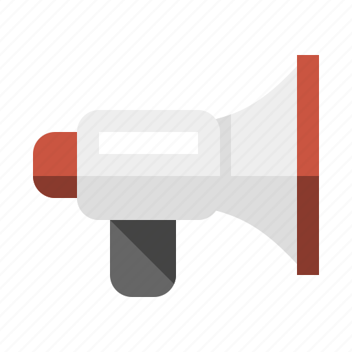 activist, alert, announcement, bullhorn, megaphone, protest icon