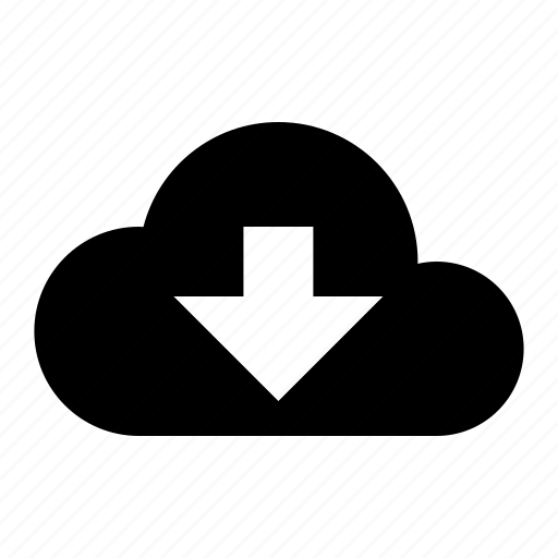 cloud, download, internet, network, sharing, storage, web icon