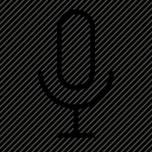 audio, microphone, recording, sing, sound, speak icon