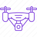 copter, device, drone, gadget, nanocopter, quadcopter, robot icon