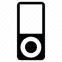 device, ipod, mp3, music icon