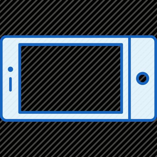 apple, communication, device, horizontal, iphone, smartphone, technology icon