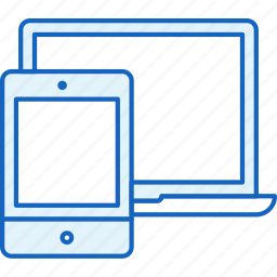 apple, connection, devices, ipad, laptop, macbook, tablet icon