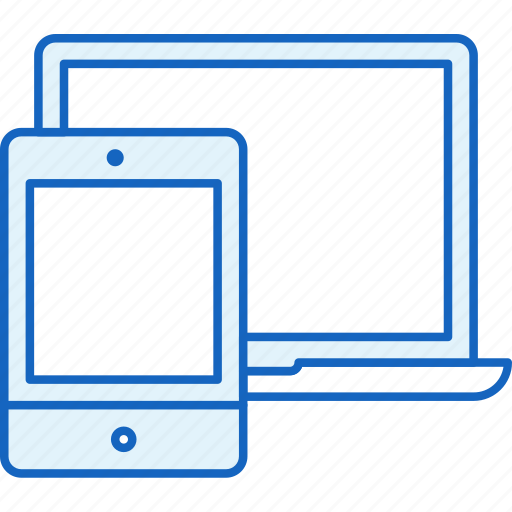 Ipad, apple, tablet, laptop, devices, connection, macbook icon