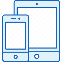 apple, connection, devices, ipad, iphone, smartphone, tablet icon
