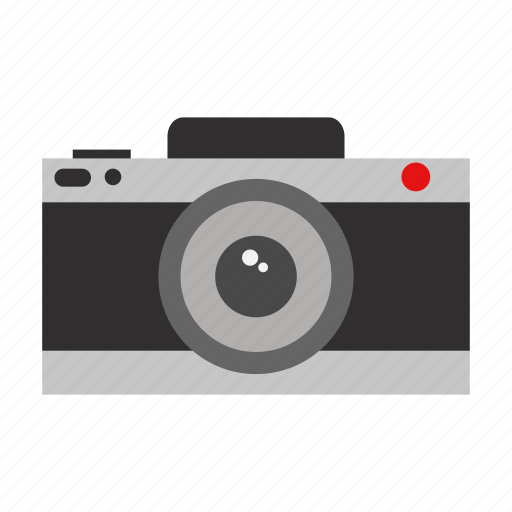 camera, design, element, graphic, illustration, isolated, sign icon
