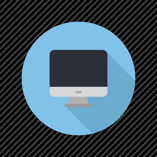 computer, desktop, device, laptop, monitor, screen, technology icon