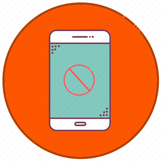 cancel, devices, error, mobile, phone, sign, smartphone icon