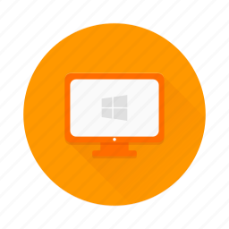 comuter, desktop, device, pc, personal, windows icon