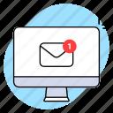 mail, imac, open, notification