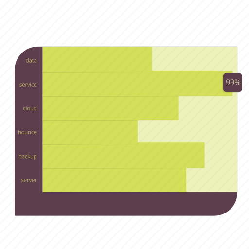 bar, business, chart, data, diagram, information, stacked icon