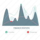 business, data, diagram, finance, information, report, statistics icon
