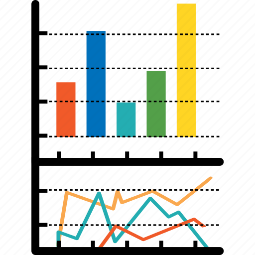 analytics, bar, chart, diagram, economics, finance, graph icon