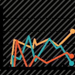 bar, chart, diagram, economics, finance, graph, infograph icon