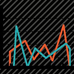 analytics graph, charts, diagram, graphs, optimization, pie, report icon