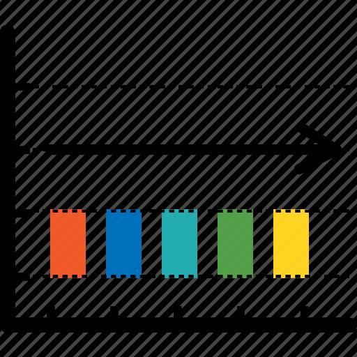 analytics, bar, business, chart, diagram, economics, finance icon
