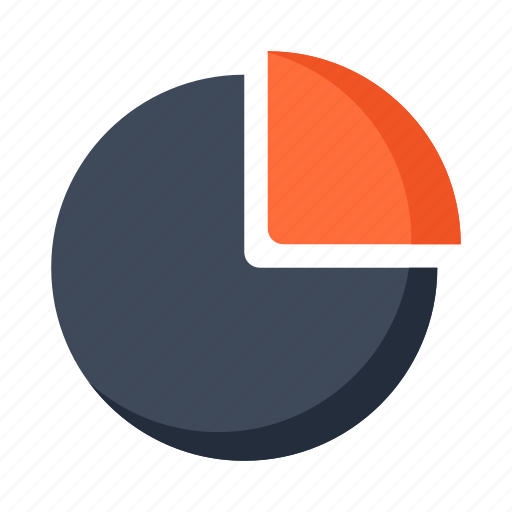 analytics, business, diagram, finance, graph, round, statistics icon
