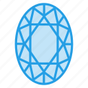 crystal, diamond, gem, jewel, ring, ruby icon