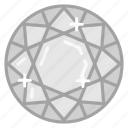 diamond, gem, jewel, jewelry, ruby icon