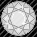 diamond, gem, jewel, jewelry, ruby icon