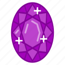 diamond, gem, jewelry, ring, ruby, stone icon