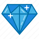 diamond, gem, jewel, jewelry, ring, ruby icon