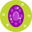 diamond, jewel, ring, ruby, stone icon