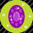 diamond, jewel, ring, ruby, stone icon