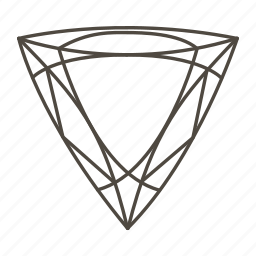 diamond, diamond shape, diamonds, gem, gemstone, jewelry, trillion icon