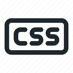 coding, css, file icon