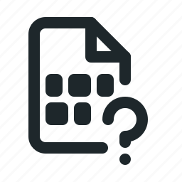 coding, file, help icon