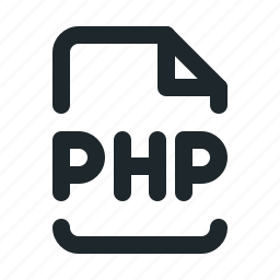 coding, file, php icon