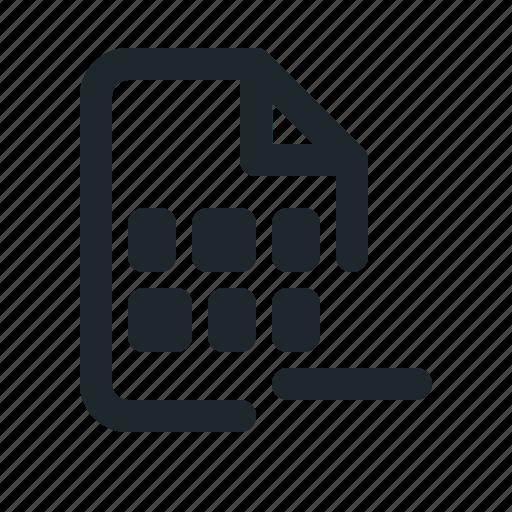 coding, file, remove icon