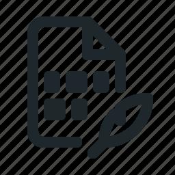coding, file, text icon