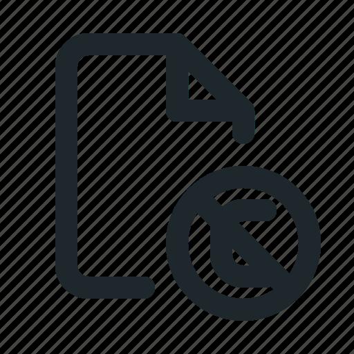 copyright, file icon