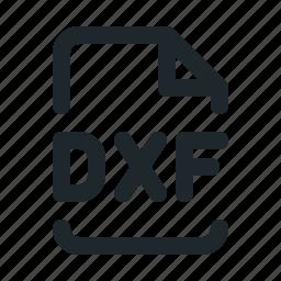 design, dxf, file icon