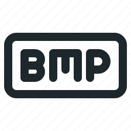 bmp, file, image icon