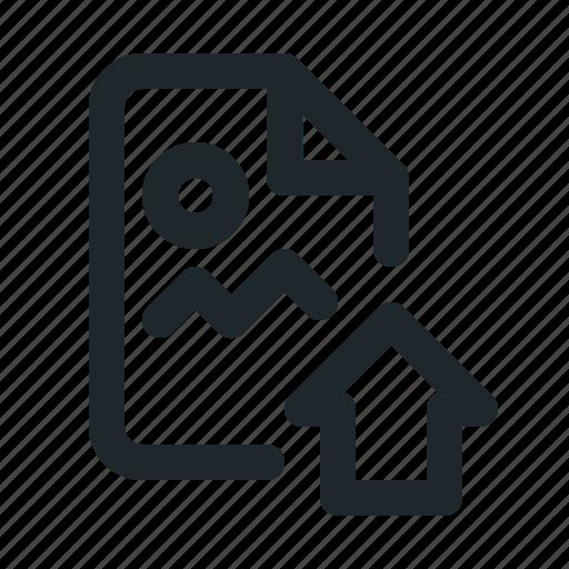 file, home, image icon