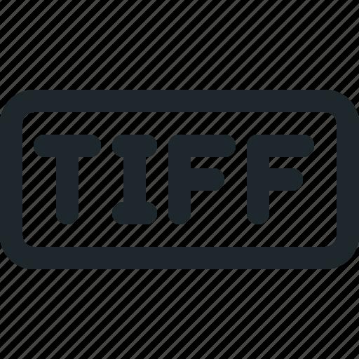 file, image, tiff icon