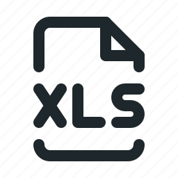 file, office, xls icon